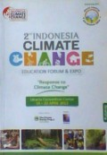 Response to climate change : 2nd indonesia climate education forum and expo