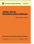 Jurnal dialog penanggulangan bencana, vol 1. no 2, tahun 2010