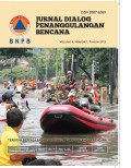Jurnal dialog penanggulangan bencana, vol 4, no 1, tahun 2013