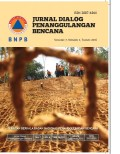 Jurnal dialog penanggulangan bencana, vol 7, no 2, tahun 2016
