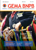 Gema BNPB vol. 6 no. 1 april 2015