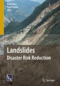 Landslides : disaster risk reduction