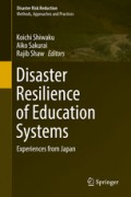 Disaster resilience of education systems : ekspriences from japan