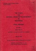 The study on natural disaster management in indonesia volume 2-1 : study activities and findings