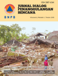 Jurnal Dialog Penanggulangan Bencana Vol 9 No. 1 Tahun 2018