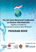 The 5th asian ministerial conference on disaster risk reduction