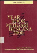 Yearbook mitigasi bencana 2000