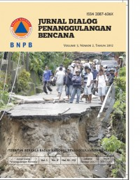 Image of Jurnal dialog penanggulangan bencana Vol. 3. No. 2, Juni 2012