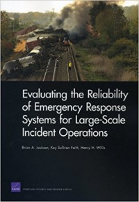Image of Evaluating the reliability of emergency response systems for large-scale incident operations