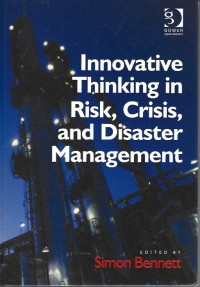 Image of Innovative thinking in risk, crisis, and disaster management